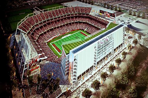 proposed Santa Clara San Francisco 49ers stadium