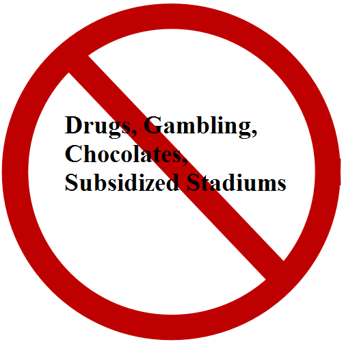 no subsidized stadiums