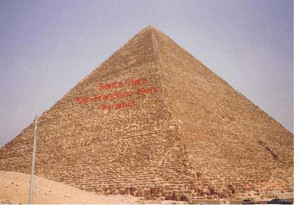 proposed Santa Clara San Francisco 49ers pyramid